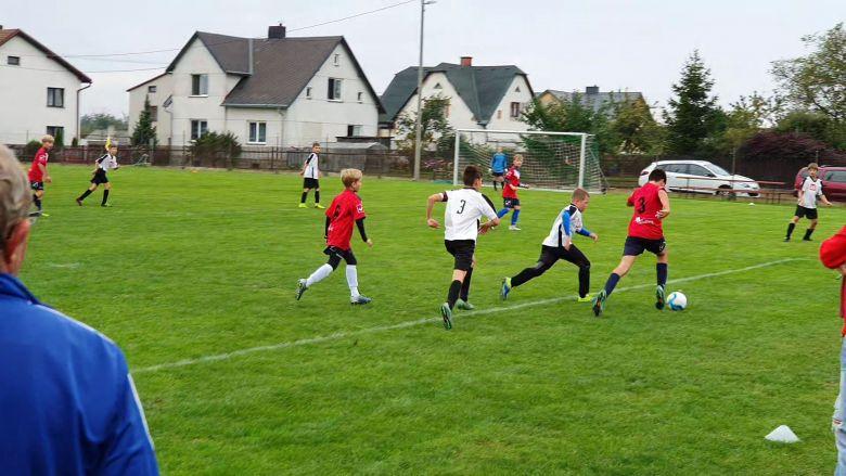 Zápas mladších žáků stýmem Slavia Opava